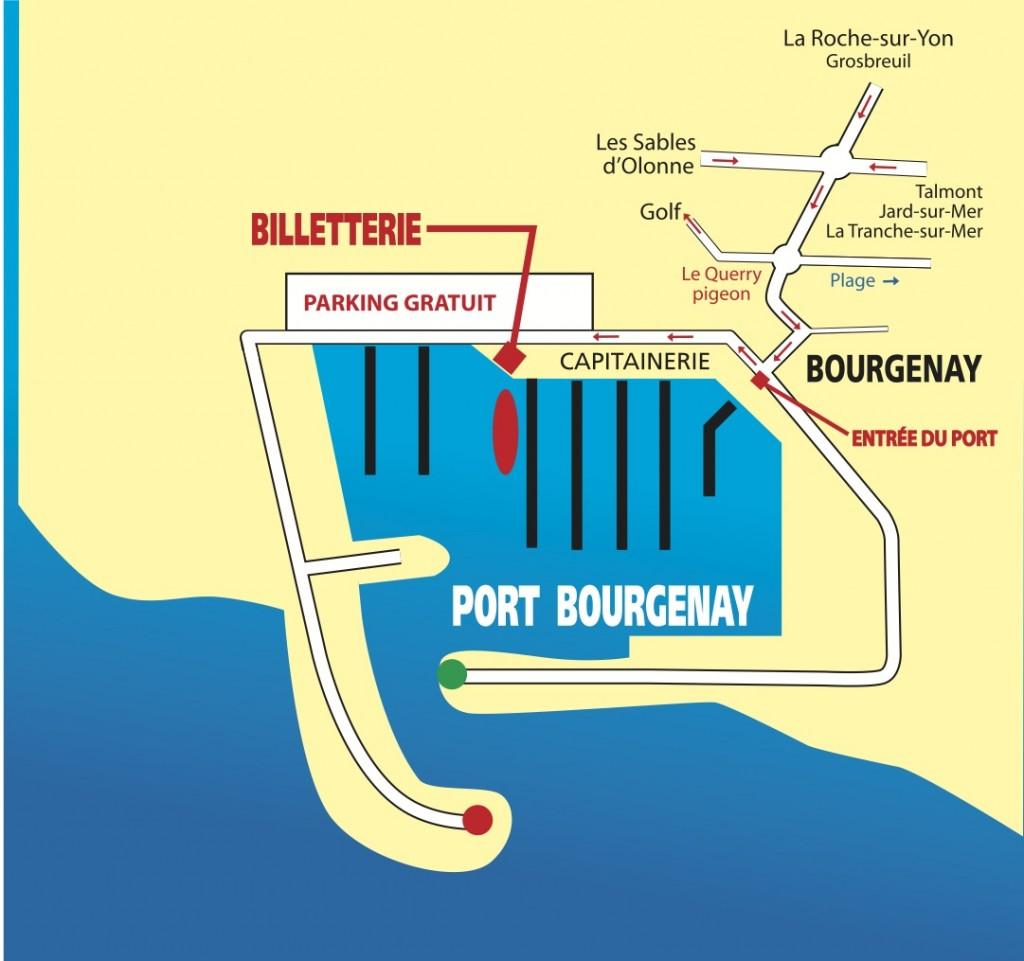 Plan billetterie et embarquement - A3PB Croisières