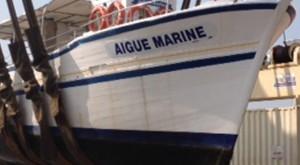 L'Aigue Marine en rénovation - A3PB Croisières